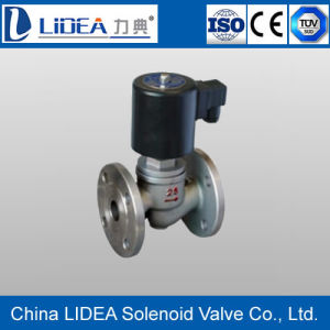 Made in China Flange Steam Solenoid Valve with Manual Function