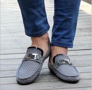 Mesh Breathable Men Casual Shoes Outdoor Sport Driving Shoe (AKCS12) pictures & photos