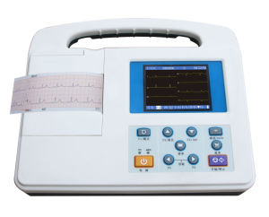 Portable Single Channel ECG Machine pictures & photos