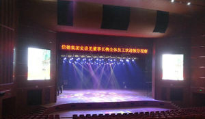 Stage Background Full Color LED Video Wall (P7.62) pictures & photos