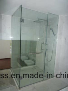6mm 8mm 10mm 12mm Toughened Bathroom Glass with Precise Slot, Cutout, Hole pictures & photos