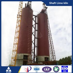 100-1000 Ton Per Day Lime Kiln Lime Production Line pictures & photos