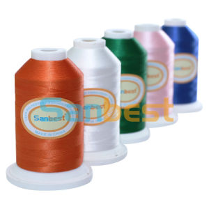 High Quality Polyester Embroidery Thread for Embroidery pictures & photos