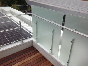 Frameless Stainless Steel Balcony Glass Balustrade pictures & photos