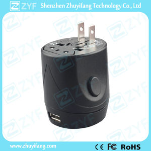 Universal USB AC Power Adapter Wall Charger (ZYF9024) pictures & photos