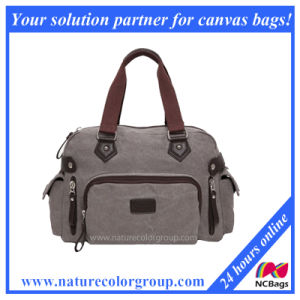 Leisure Washed Canvas Handbag for Daily Carry pictures & photos