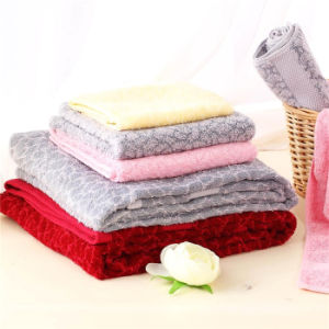 Creative Cotton Towels with Peachblossom