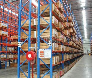 CE Certified Heavy Duty Warehouse Pallet Steel Storage Rack System pictures & photos