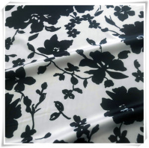 100% Polyester Satin Chiffon Stretch Fabric pictures & photos