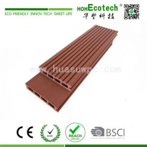High Tensile Strength WPC (Wood Plastic Composite) Outdoor Decking (HD140H25-C) pictures & photos