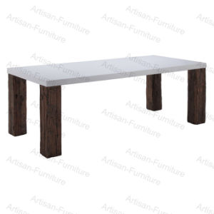 Marble Wooden Dining Table for Dining