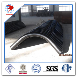 45D Pipe Bend 3D Bw ASTM A234 Wpb ANSI B16.49 Factory Bend pictures & photos