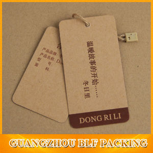 Custom Kraft Paper Hang Tags (BLF-T101) pictures & photos