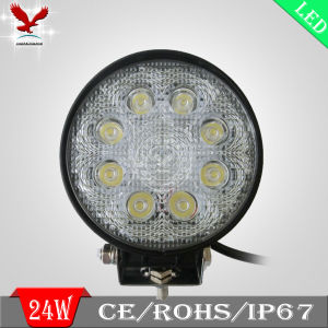 24W Tractor Offroad LED Work Light, Work Lamp (HCW-L2411)