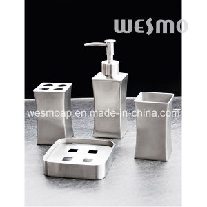 Matt Finish with Slim Waist Stainless Steel Bath Set (WBS0815A) pictures & photos