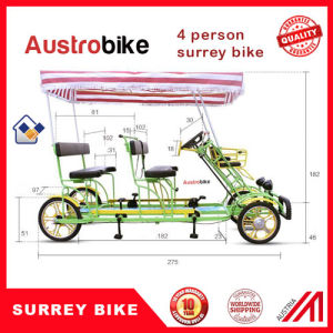 Two Person Pedal Car Four Person Tandem Surrey Bike