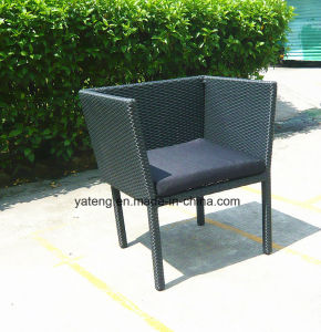 All Weather Waterproof Durable Outdoor Chair Stacke Rattan Chair (YTA196) pictures & photos
