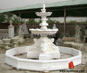 Marble Stone Carving Water Fountains for Garden&Landcaping pictures & photos