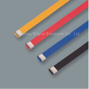PVC Covered Stainless Steel Cable Ties-O Lock Type 16X400mm pictures & photos