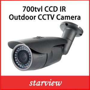 700tvl CCD Sony Fixed Lens Waterproof IR Bullet Security Camera pictures & photos