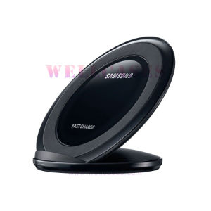 Orignal Qi Transmitter Anti-Slip Round Wireless Charger for Samsung S7 pictures & photos