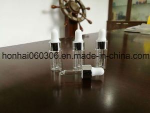 Custom Made 3ml Empty Perfume Glass Bottle with Sprayer pictures & photos