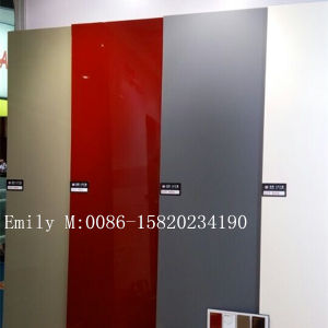 Scratch Resistant Lct MDF Board for Kitchen Cabinet Door (ZHUV factory) pictures & photos