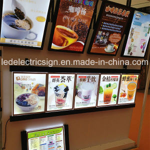 LED Light Box Sign Menu Display for Cold Drinks Shop pictures & photos