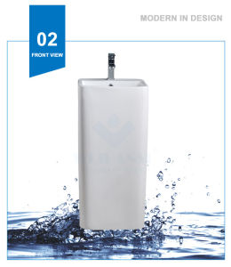 Weidansi Ceramic Wash Pedestal Basin Wash Sink (WDS-P7103) pictures & photos