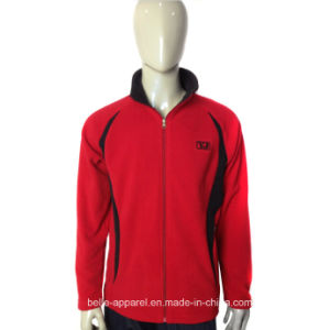 Men Winter Warm Zipper Design Polar Fleece Jacket pictures & photos