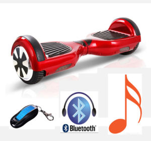 6.5 Inch Bluetooth Hoverboards Self Balancing Scooters Chrome