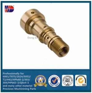 High Quality C36000 Brass Precision CNC Machining Part pictures & photos