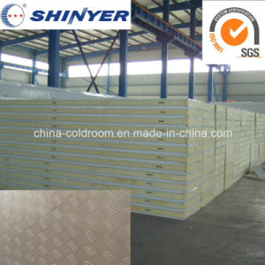 Embossed Aluminum Polyurethane PU Sandwich Panel for Cold Storage Room pictures & photos