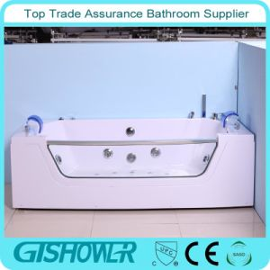 Cheap Colored Bubble Bath Tub (KF-637) pictures & photos