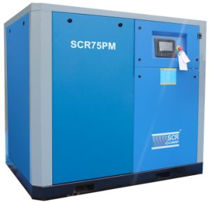 Energy Saving High Efficiency Permanent Magnetic Screw Air Compressor pictures & photos