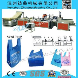 Non Woven W -Bag Making Machine pictures & photos