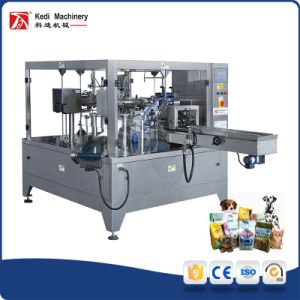 Ce Certificate Pet Food Powder Rotary Packing Machine pictures & photos