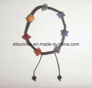 Natural Crystal Gemstone Beaded Merkaba Fashion Jewelry Bracelet pictures & photos
