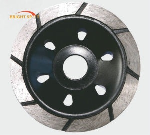 Single Row Diamond Cup Grinding Wheel for Angle Grinder pictures & photos