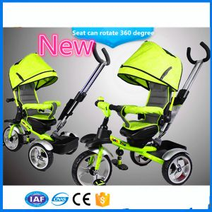 2016 Hot Selling Best Quality Cheap Fancy Baby Pram Baby Stroller, Softtextile Baby Tricycle Baby Buggy, Baby Stroller 3 in 1 Ce, En71, CCC, SGS pictures & photos