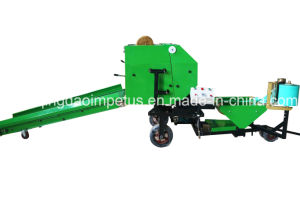 Round Maize Silage Baler and Wrapper Hot Selling in Africa pictures & photos