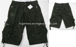 Casual Leisure Camouflage Lattice Cargo Jogger Washing Pants for Man pictures & photos