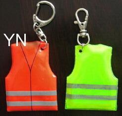 Reflective Vest Shap Key Chain pictures & photos