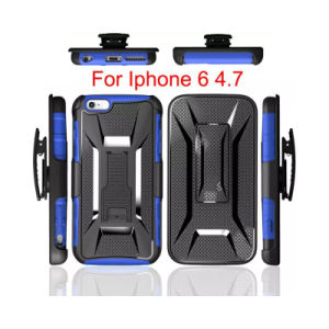 American Version Belt Clip Holster Kickstand Phone Case for iPhone6