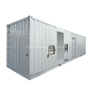800 Kw 40 Feet Containerized Silent Type Diesel Generator with Perkins UK Engine pictures & photos