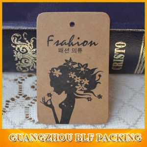 Mono Printed Kraft Paper Tags (BLF-T106) pictures & photos