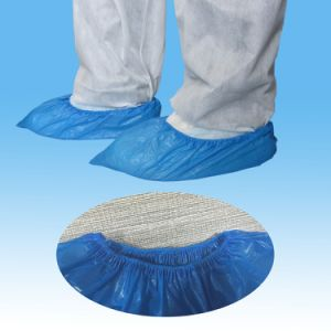 Disposable Surgical Shoe Cover, PE Shoe Cover, Waterproof Shoe Covers pictures & photos