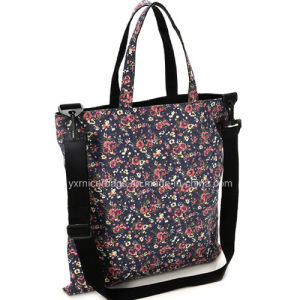 Wholesale Latest Floral Print Tote Bag, Shoulder Bags 2016 pictures & photos