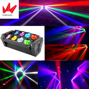 LED 8PCS * 12W Moving Head Stage Spider Beam Light