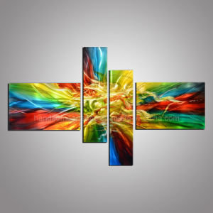 100% Handmade with 3D Effect Aluminum Painting pictures & photos
